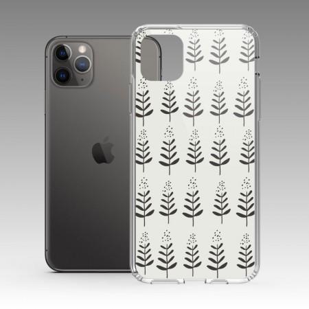 [本島舍] 小樹(黑白) iPhone 耐衝擊保護殼