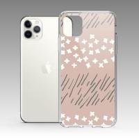 草白花(晨陽紅) iPhone 耐衝擊防摔保護殼 原創個性印花,贈送胸章或蝴蝶結緞帶
