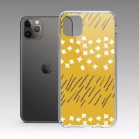 草白花(朝陽橘) iPhone 耐衝擊防摔保護殼 原創個性印花,贈送胸章或蝴蝶結緞帶