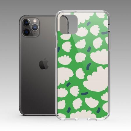 [本島舍] 盛花(綠點藍) iPhone 耐衝擊保護殼