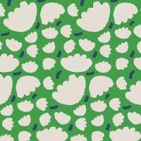 盛花(綠點藍)手機翻蓋保護皮套 原創個性印花,超過200種機型全面防護!