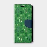 葉脈(夏綠)手機翻蓋保護皮套