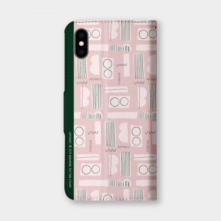 [本島舍] 閱讀(害羞粉)手機翻蓋保護皮套