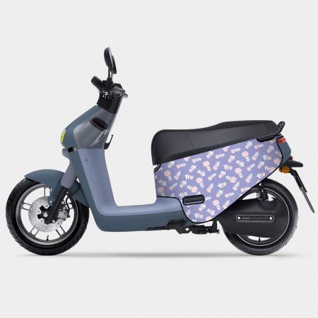 [本島舍] 善良紫 gogoro 防刮車套