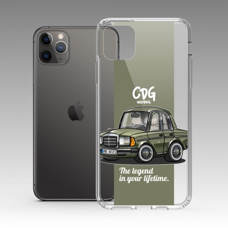 [CDG WORKS] Mercedes-Benz W123 iPhone 耐衝擊保護殼