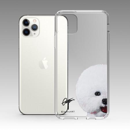 一伴系列-比熊犬 iPhone 耐衝擊保護殼