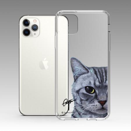 一伴系列-美短貓 iPhone 耐衝擊保護殼