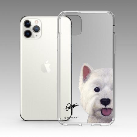 一伴系列-西高地白梗 iPhone 耐衝擊保護殼