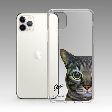 一伴系列-虎斑貓 iPhone 耐衝擊保護殼