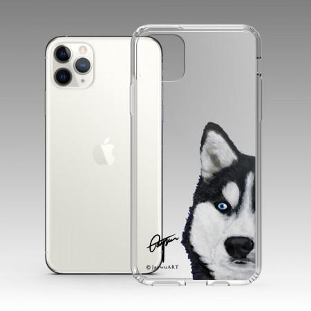 一伴系列-哈士奇 iPhone 耐衝擊保護殼