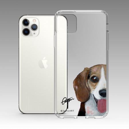 一伴系列-米格魯 iPhone 耐衝擊保護殼