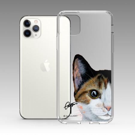 一伴系列-三花貓 iPhone 耐衝擊保護殼
