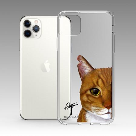 一伴系列-橘貓 iPhone 耐衝擊保護殼