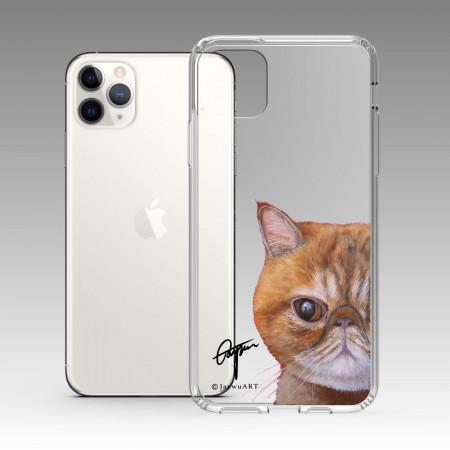 一伴系列-短毛波斯貓 iPhone 耐衝擊保護殼