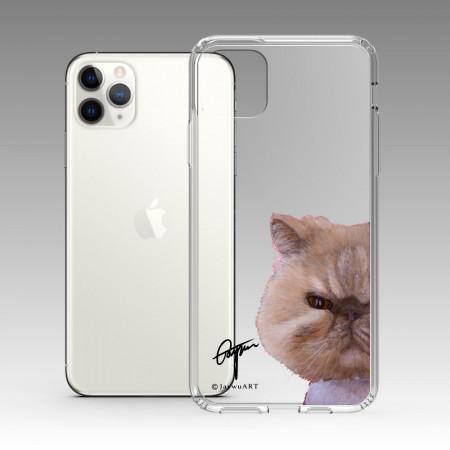 一伴系列-長毛波斯貓 iPhone 耐衝擊保護殼