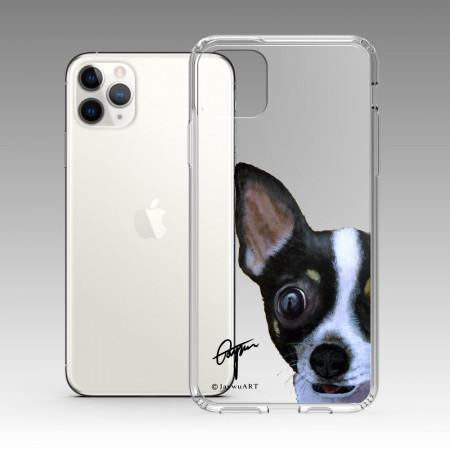 一伴系列-吉娃娃 iPhone 耐衝擊保護殼