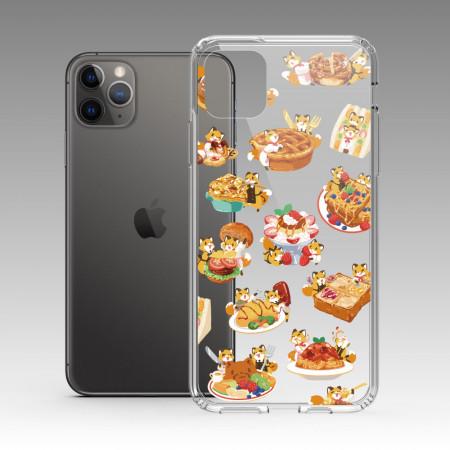 [狐日和] 狐日和食物 iPhone 耐衝擊保護殼