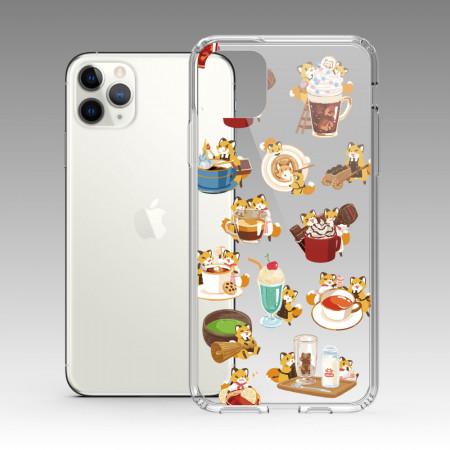 [狐日和] 狐日和飲料 iPhone 耐衝擊保護殼