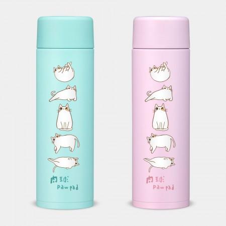 [肉球 paw pad] 各種姿勢的肉肉 象印不鏽鋼保溫杯