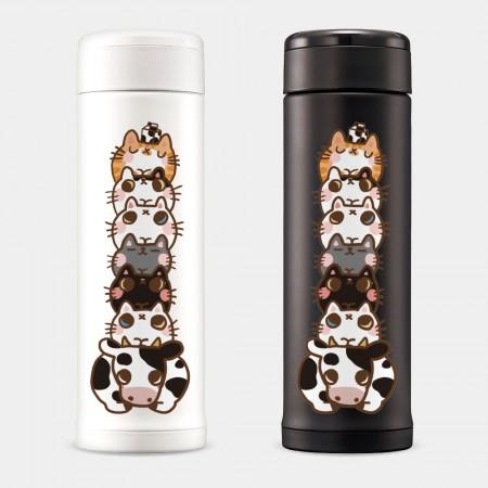 [肉球 paw pad] 寵物疊疊樂 象印不鏽鋼保溫杯