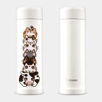 寵物疊疊樂 象印不鏽鋼保溫杯