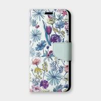 花の都市 日本千葉淡水色手機翻蓋保護皮套 原創印花設計,超過200種機型全面防護!