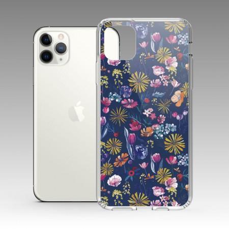 [露台上的波麗] 花の都市 日本千葉琉璃紺 iPhone 耐衝擊防摔保護殼