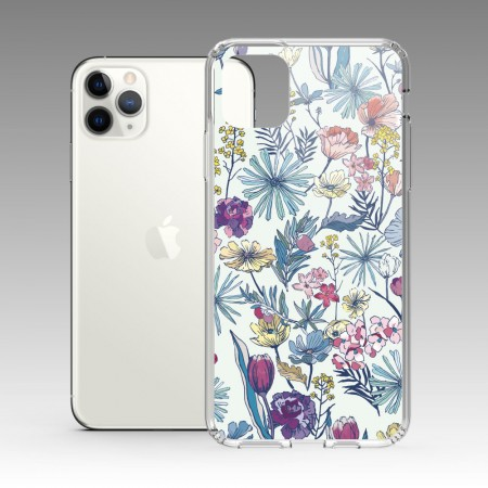 [露台上的波麗] 花の都市 日本千葉淡水色 iPhone 耐衝擊防摔保護殼