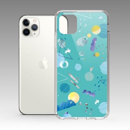 [露台上的波麗] 宇宙系列 鏡湖 iPhone 耐衝擊保護殼
