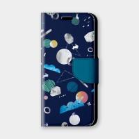 宇宙系列 詠夜手機翻蓋保護皮套 原創印花設計,超過200種機型全面防護!
