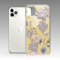 [露台上的波麗] 城市印花—皇后普蒂亞(梔子黃) iPhone 耐衝擊保護殼
