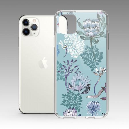 [露台上的波麗] 城市印花—皇后普蒂亞(碧綠) iPhone 耐衝擊保護殼