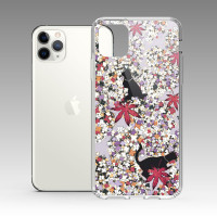 [露台上的波麗] 城市印花—清華園(紅藤色) iPhone 耐衝擊保護殼