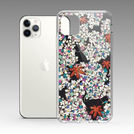 [露台上的波麗] 城市印花—清華園(楓) iPhone 耐衝擊保護殼