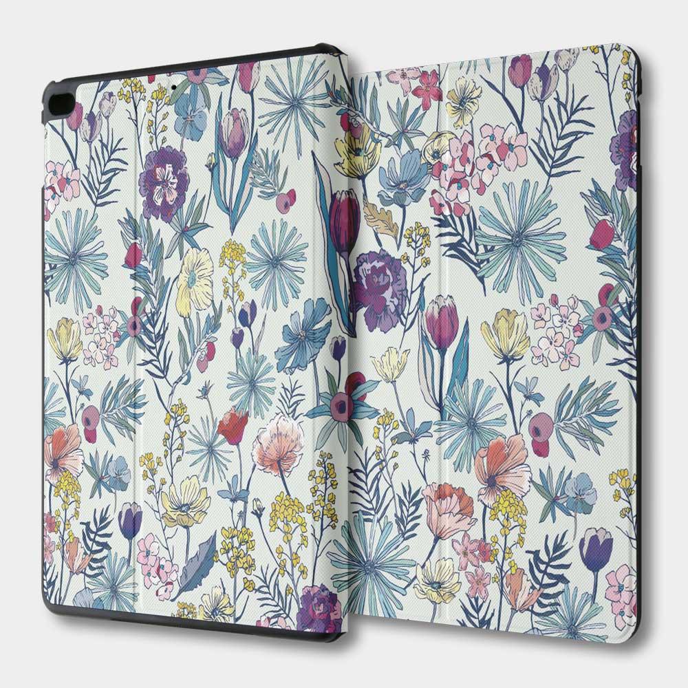 花の都市 日本千葉淡水色 iPad mini 多角度翻蓋皮套