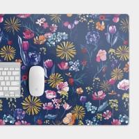 [露台上的波麗] 花の都市 日本千葉琉璃紺 電競滑鼠墊
