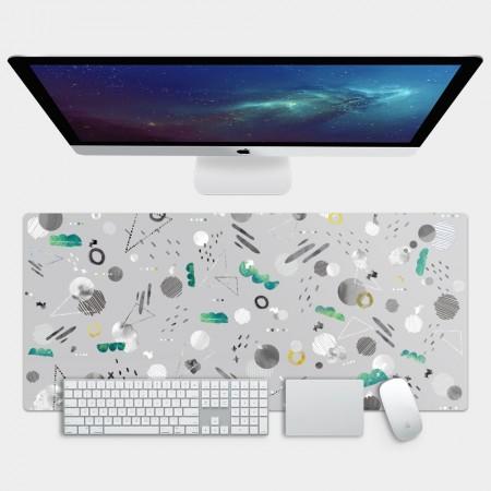 [露台上的波麗] 宇宙系列 翠玉之森 電競滑鼠墊