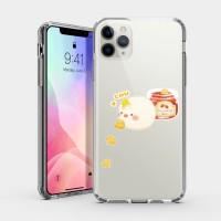 麵包 - 可愛鳥 iPhone 耐衝擊保護殼 贈送胸章或蝴蝶結緞帶