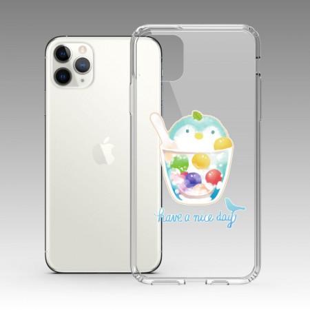 [Tilabunny 緹拉兔] 夏日冰球飲料 - 企鵝水果特調 iPhone 耐衝擊保護殼