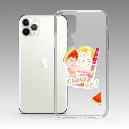 [Tilabunny 緹拉兔] 夏日冰球飲料 - 西瓜熱帶水果特調 iPhone 耐衝擊保護殼