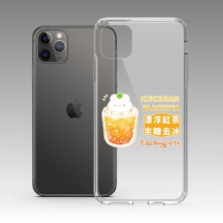 [Tilabunny 緹拉兔] 紅茶半糖去冰 iPhone 耐衝擊保護殼