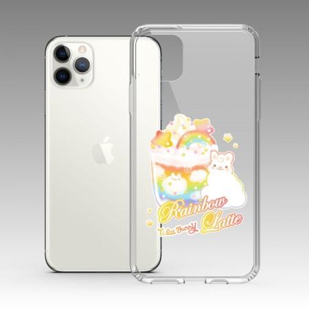 [Tilabunny 緹拉兔] 彩虹拿鐵繽紛紛 iPhone 耐衝擊保護殼