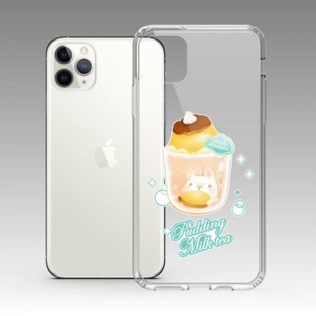 [Tilabunny 緹拉兔] 偷吃一口布丁奶茶 iPhone 耐衝擊保護殼