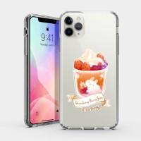 莓莓奶泡果飲 iPhone 耐衝擊保護殼