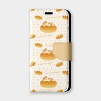 兔兔還是麵包?手機翻蓋保護皮套 贈送胸章