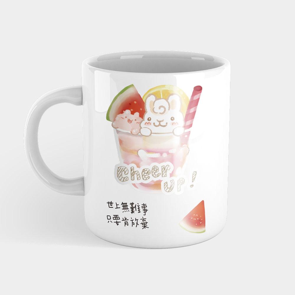 [Tilabunny 緹拉兔] 夏日冰球飲料 - 西瓜熱帶水果特調(可客製化座右銘)