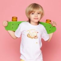 麵包 - 一起下午茶  黑白灰TEE 大人小孩共 13 種尺寸