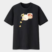 麵包 - 可愛鳥  黑白灰三色 可選綿T或涼感衣