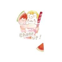 夏日冰球飲料 - 西瓜熱帶水果特調  黑白灰TEE 大人小孩共 13 種尺寸