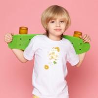 夏日冰球飲料 - 貓咪檸檬冰茶  黑白灰TEE 大人小孩共 13 種尺寸